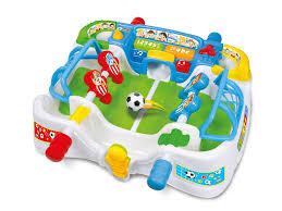 baby clementoni interactive football table 64 99 amazon
