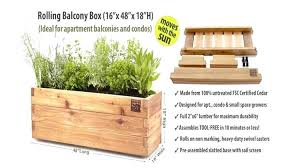 rolling garden rolling balcony box rolland curtis garden apartments