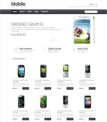 Free Ecommerce Website Templates Unique Mobile Store Template Ecommerce Website Templates Html Css Free
