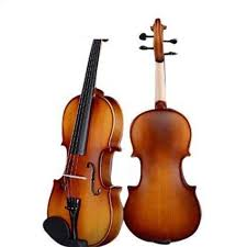 D Z Strad Violin Model 100 with <b>Solid</b> Wood <b>4/4 Full Size</b> with Case ...