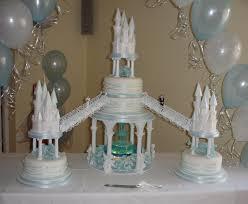 blue wedding cakes fountain. Fine Blue Castles Wedding Cake With Fountain  By Creative Cakes Clare Inside Blue Wedding Fountain A