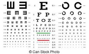 Rms Eye Chart Eye Test Chart Vector Letters Chart Vision Exam