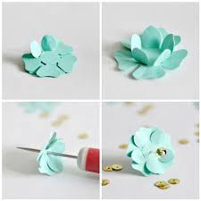 Paper Punches Flower Making Paper Punch Flowers Blogged At Torie Jayne Com Blog Flickr