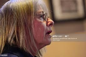 Polly Christensen is seen leaving after talking with Longmont Mayor...  Fotografía de noticias - Getty Images