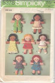 Rag Doll Patterns Simplicity