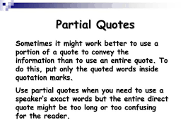 Quote Inside A Quote Ppt Using Quotations Powerpoint Presentation Id 154733