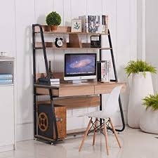 bookshelf with drawers. Delighful Drawers Emall Life MultiFunctional Computer Desk With Bookshelf And Drawers Home  Office PC Laptop Study In With O