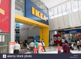 ikea furniture store entrance at rhodes shopping centre in sydney FAF1H4