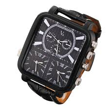 wish mens big face watches