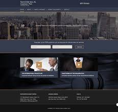 Westchester Web Design Serious Modern Law Firm Web Design For Salvatore J Liga