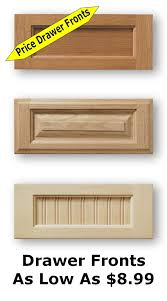cabinet doors and drawer frontsUnfinished Shaker Cabinet Doors As Low As 899
