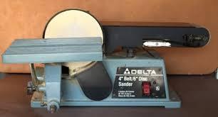 belt disc sander harbor freight. delta belt disc sander 4 6 model type 2 excellent condition harbor freight