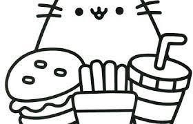 Pusheen Coloring Book Pusheen Pusheen The Cat Pusheen Coloring Cute