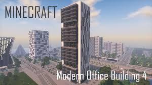 modern office building. Minecraft Modern Office Building/Skyscraper 4 (full Interior) + Download Building N