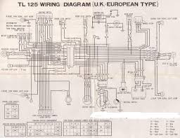 honda tl125 wiring diagram honda wiring diagrams