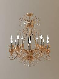 antique detailed chandelier 3d model