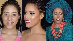 makeup transformation 4 nigerian bridal makeup look