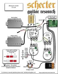 schecter c e a wiring diagram harmony central comment