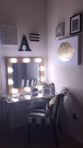 desks vanity mirror with light bulbs ikea vanity table makeup table with lights makeup
