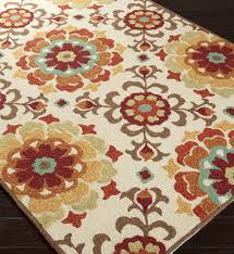 contemporary hand hooked rug surya som7703 576 storm 5 by 7 6 cream contemporary undefined