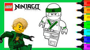 Lloyd Lego Ninjago Coloring Pages | Lego Ninjago Coloring Book - YouTube