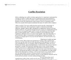 how to write an essay introduction for conflict resolution essay custom conflict resolution in personal relationships essay