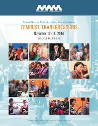 2014 NWSA Conference Program by National Women s Studies.