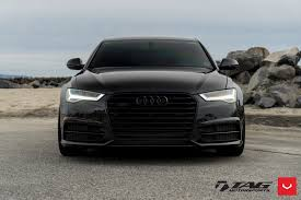 black audi. Beautiful Audi Audi A6 White LED Headlights  Photo By Vossen Inside Black C