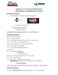 Meet And Greet Meeting Agenda South Dakota Iada Conference Agenda