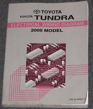 toyota tundra manual 2005 toyota tundra truck electrical wiring diagram service manual