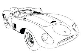 Ferrari Coloring Pages Printable Spider Chronicles Network
