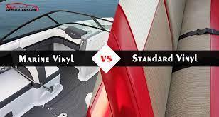 marine vinyl vs standard vinyl