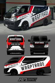 Toyota Hiace Sticker Design Pin By Elton Gregory On Toyota Hiace Van Signage Vehicle