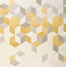 Tex - Yellow, Grey, White contemporary