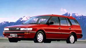Toyota Corolla 4WD Wagon EU spec AE95 '1988–94 - YouTube