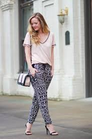 Patterned Joggers Extraordinary Patterned Joggers My Style Pinterest Florida Fashion Joggers