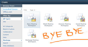 Sharepoint 2013 Site Templates Meeting Workspace Removed In Sharepoint 2013