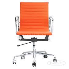 lexmod ribbed mid office. amazoncom kardiel classic 1958 lider ribbed mid back aluminum office chair orange lexmod c