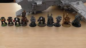 Space Marines Are Getting Larger Ultimate Space Marine Size Comparison Wh40k