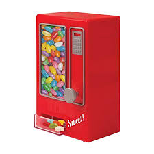 Small Candy Vending Machine New Invero Red Mini Retro Style Children's Kids Sweet Vending Machine