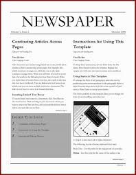 Microsoft Word Newspaper Template 002 Newspaper Obituary Template Microsoft Word Imposing