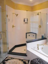 mesmerizing fancy bathroom decor. Mesmerizing Bathrooms Look With Small Shower Stall Ideas : Fancy Decorating Using White Tile Backsplash Bathroom Decor T