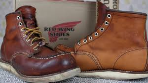 reconditioning your red wing boots saddle soap conditioning oiling