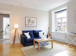 how to decorate a one bedroom apartment with a simple designs royal blue