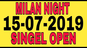 Milan Night Satta Matka Online Matka Play 2019 10 05