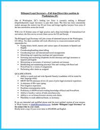 Bilingual Resume Examples Examples Of Resumes