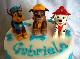 Creattivamente: paw patrol cake: dolci cuccioli per il piccolo