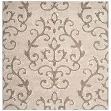 7 foot square sisal rug cream beige ft area x rugs the home depot compressed 7 ft square jute rug