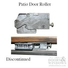 replace rollers on sliding glass doors patio door roller discontinued replace with how to change rollers