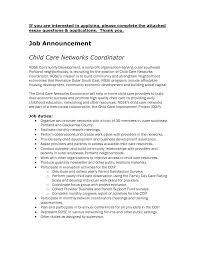 100 Child Care Sample Resume Child Care Resume Child Care